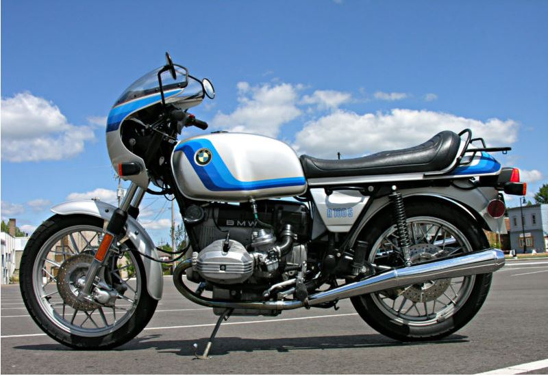 BMW R100S Exklusiv Sport - Left Side