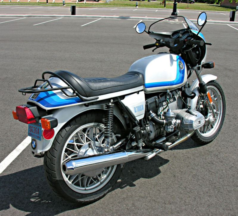 BMW R100S Exklusiv Sport - Right Side
