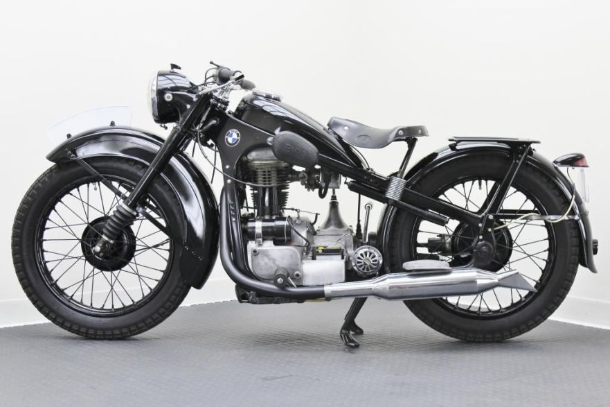 BMW R35 - Left Side