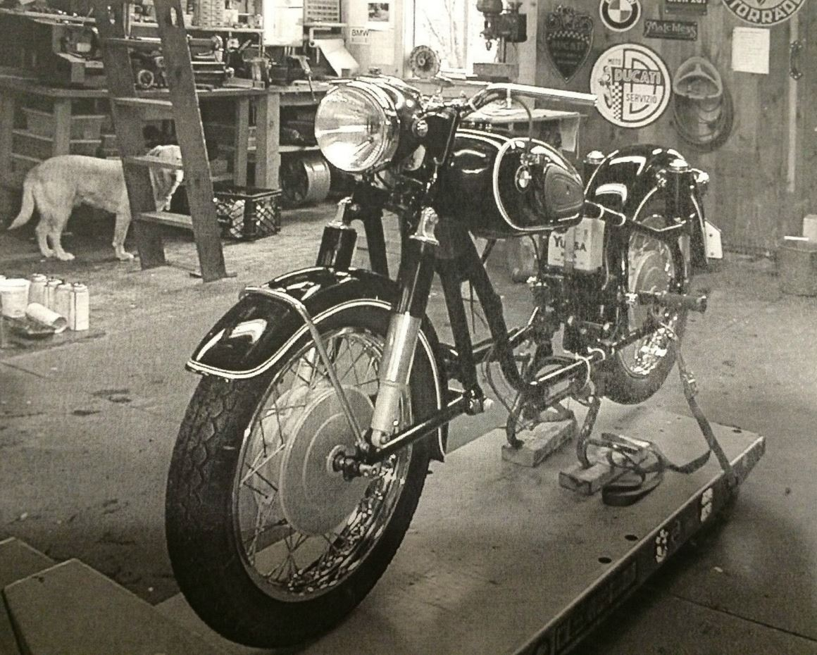Restored 1968 Bmw R50 2 Bike Urious Front Wheel Bikes Left Restoration