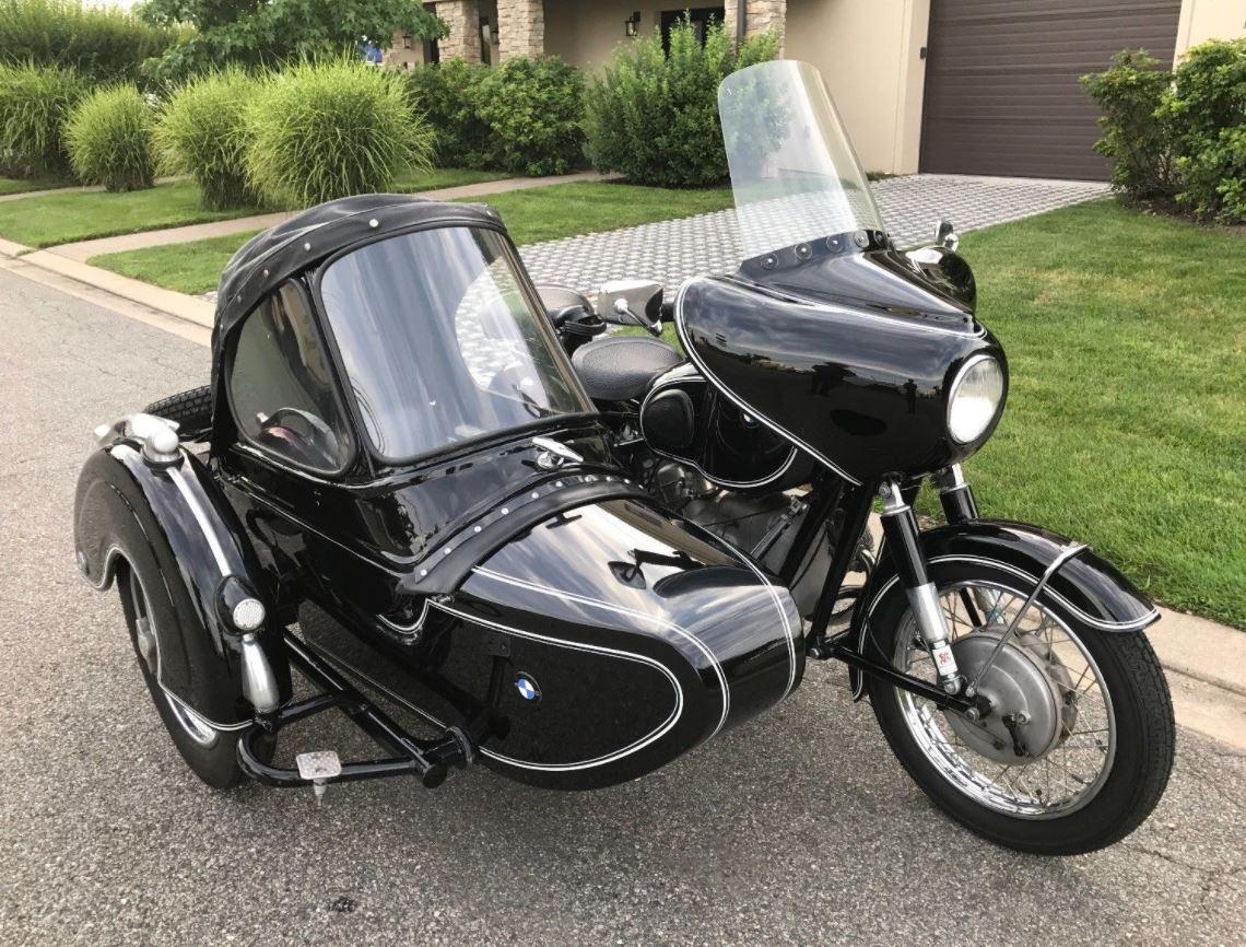 1961 Bmw R50 2 With Steib Tr500 Sidecar Bike Urious Front Wheel Bikes