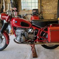 Granada Red - 1968 BMW R60/2 US