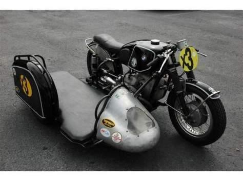 BMW R672 Sidecar Racer - Hack