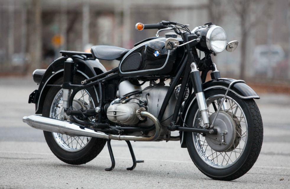 Well Optioned 1961 Bmw R69s Bike Urious
