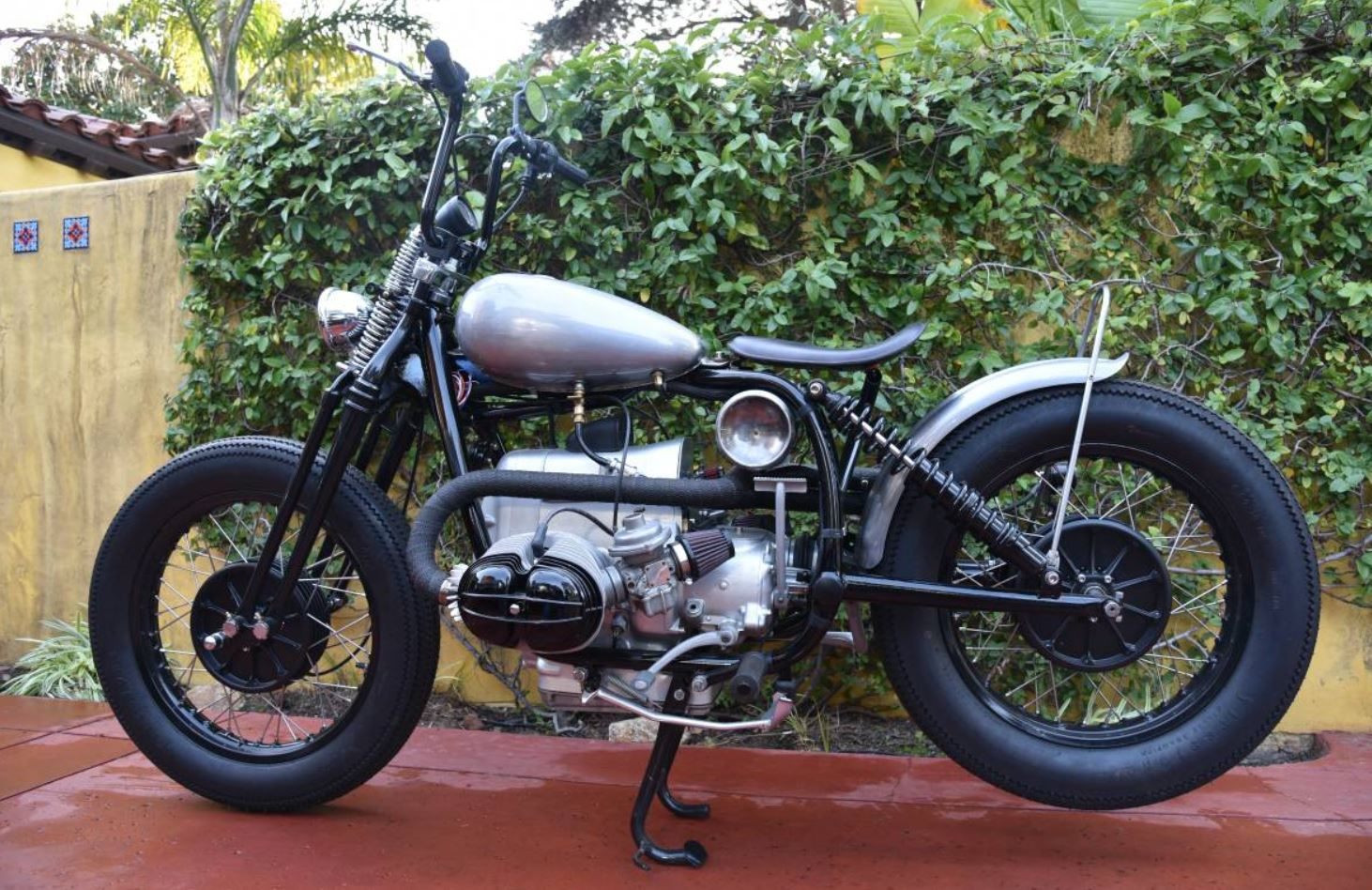 All BMW Models bmw 900cc motorcycles Unexpected Bobber – 1973 BMW R75/5 Custom   Bike-urious