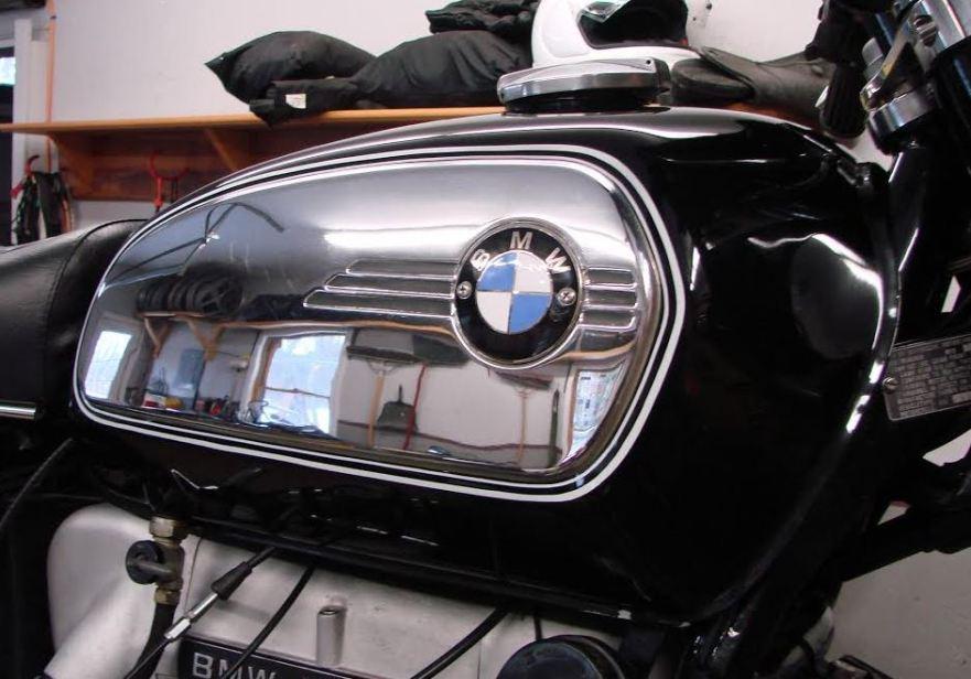 BMW R75-7 Cafe Racer - Tank