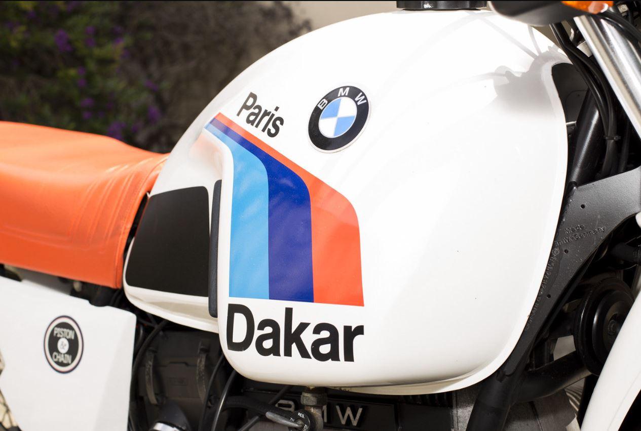 1981 Bmw R80g S Paris Dakar Bike Urious