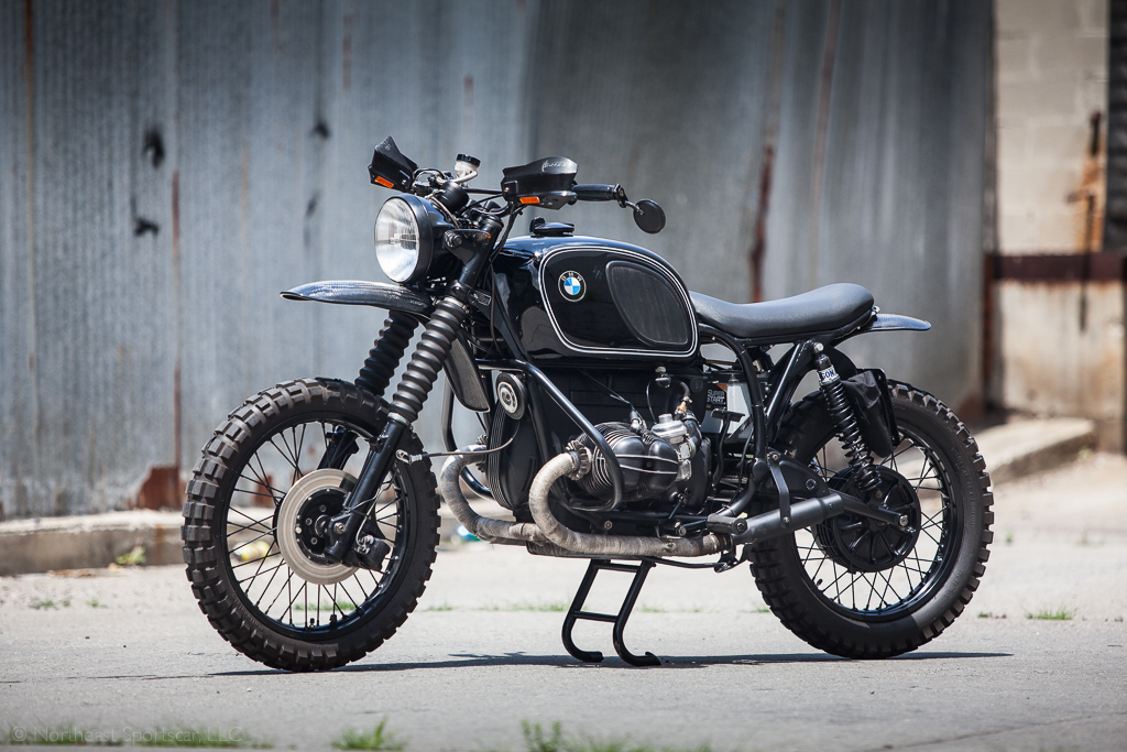BMW R90 Enduro - Left Side