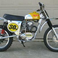 Vintage MX - 1969 BSA 441 Victor Special