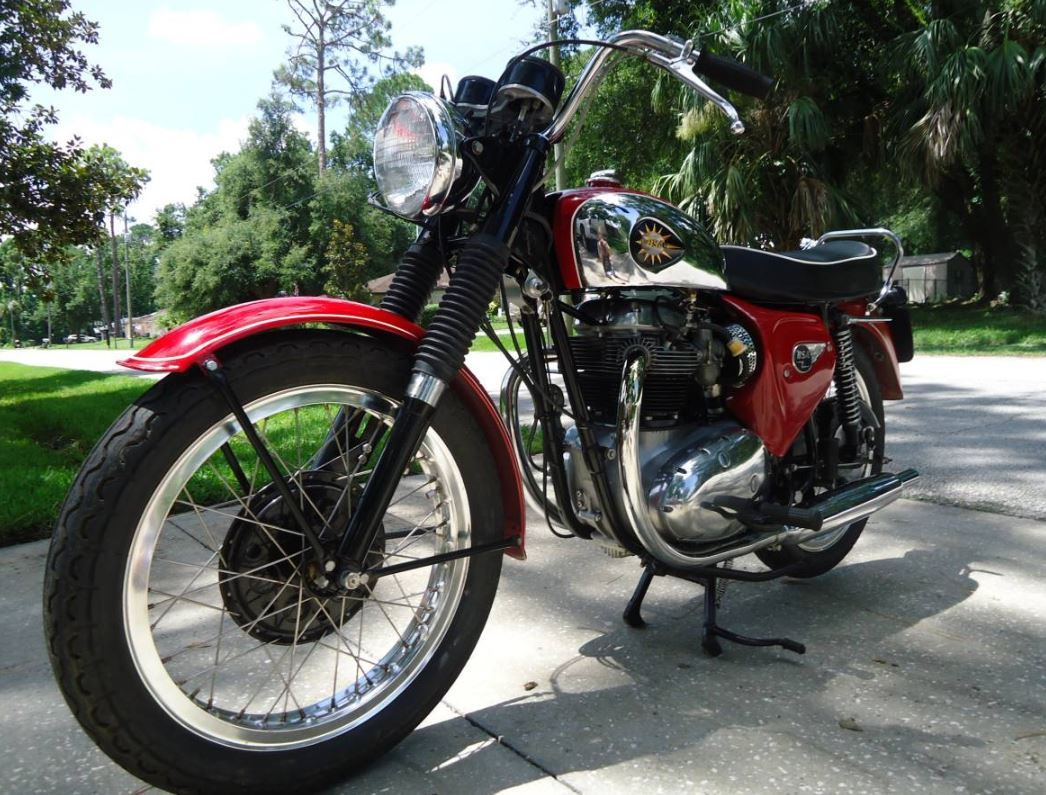 Restored - 1965 BSA Lightning Rocket A65R