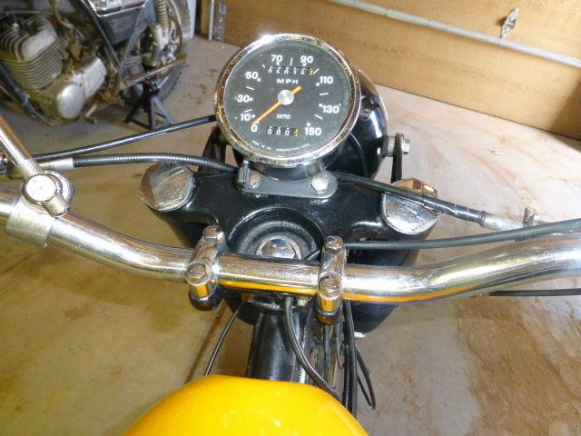 BSA Victor 441 Special - Cockpit