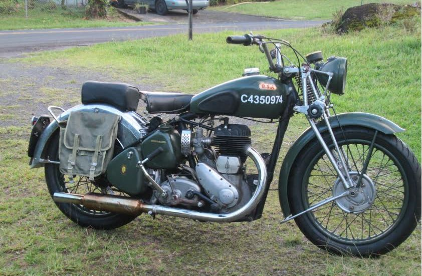 Here is an example of a motorcycle that is not rare, not righteous and only moderately rideable.  The BSA WM20 was the most common motorcycle ever produced by BSA – more than 120,000 examples were manufactured. There is nothing special about the model – just a tough dependable workhorse.   It's a nice ride unless you want to go over 55mph.  As a fairly primitive side-valve, 55mph is about the realistic top speed.  You can pick up a good example for around $6,000 or so…