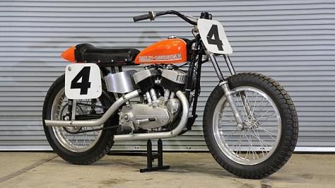 Bart Markel - Harley-Davidson KR750 - Right Side