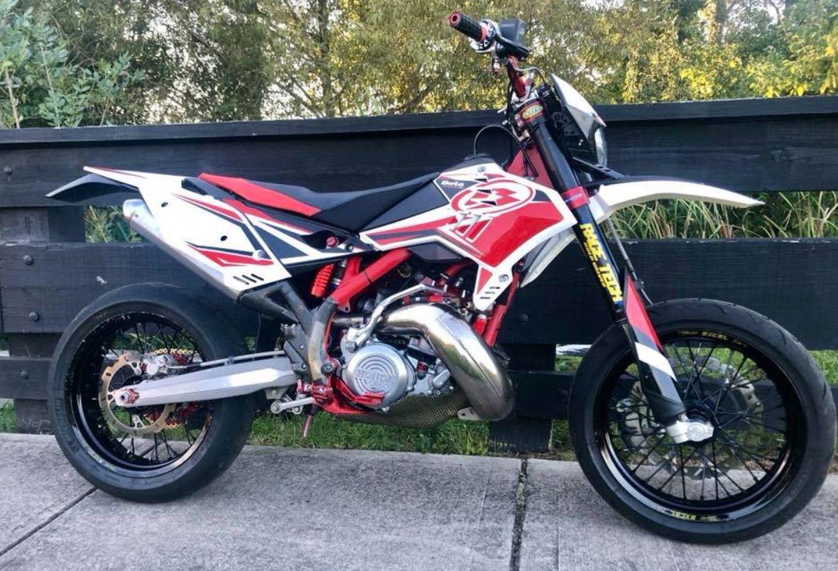 Cr500 Powered 2012 Beta Supermoto Bike Urious