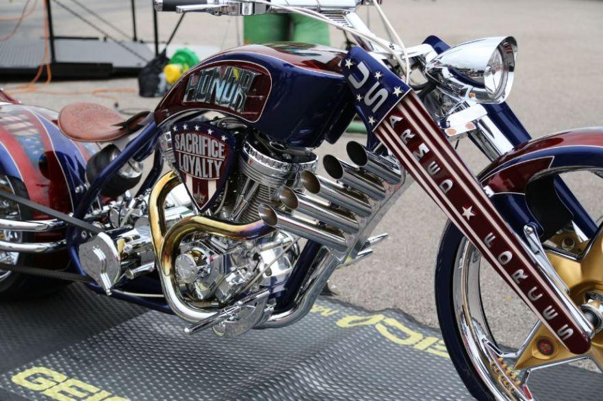 Bike-urious MotoGP Austin - Geico Custom Exhaust