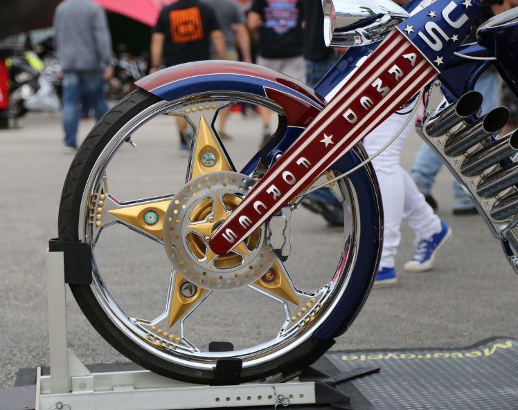 Bike-urious MotoGP Austin - Geico Custom Front Wheel