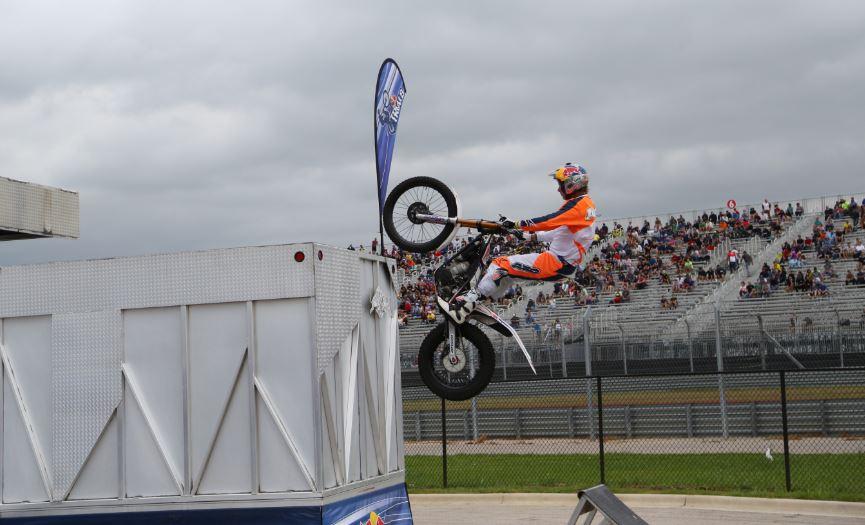 Bike-urious MotoGP Austin - Geoff Aaron Wallride