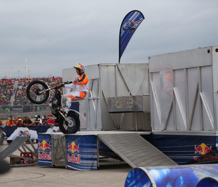 Bike-urious MotoGP Austin - Geoff Aaron Wheelie Structure