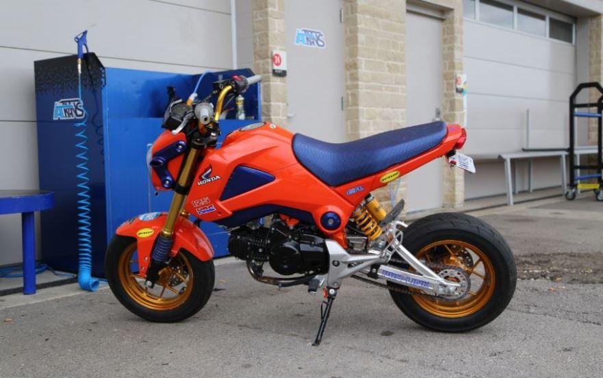Bike-urious MotoGP Austin - Honda Grom HRC Livery