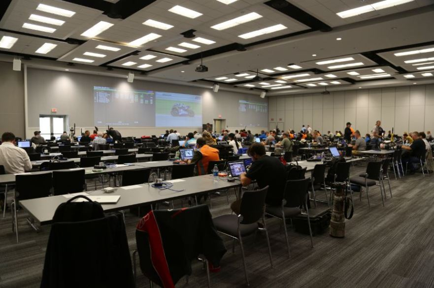 Bike-urious MotoGP Austin - Press Room