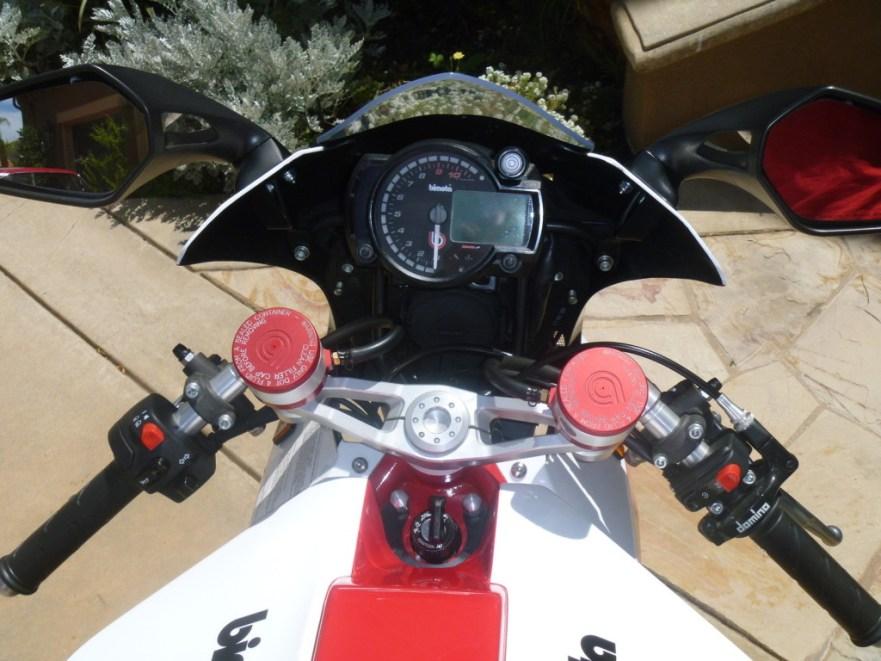 Bimota Tesi 3D - Cockpit