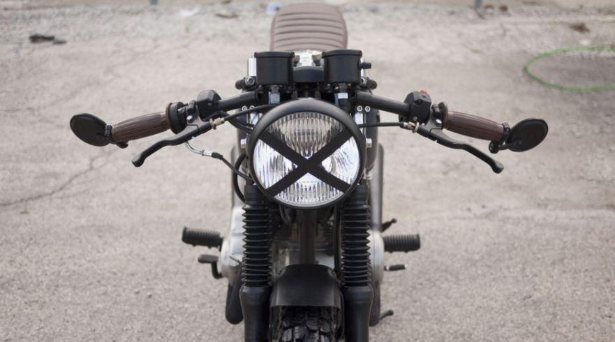 Blue Steel - Honda CB360T - Front