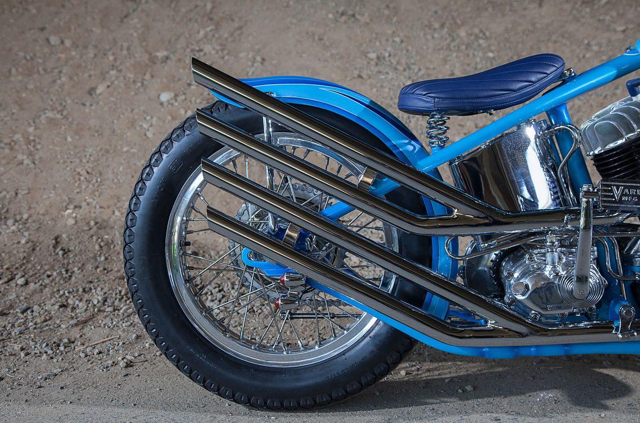 Born Free 8 Best in Show – 1942 Harley-Davidson UL Chopper