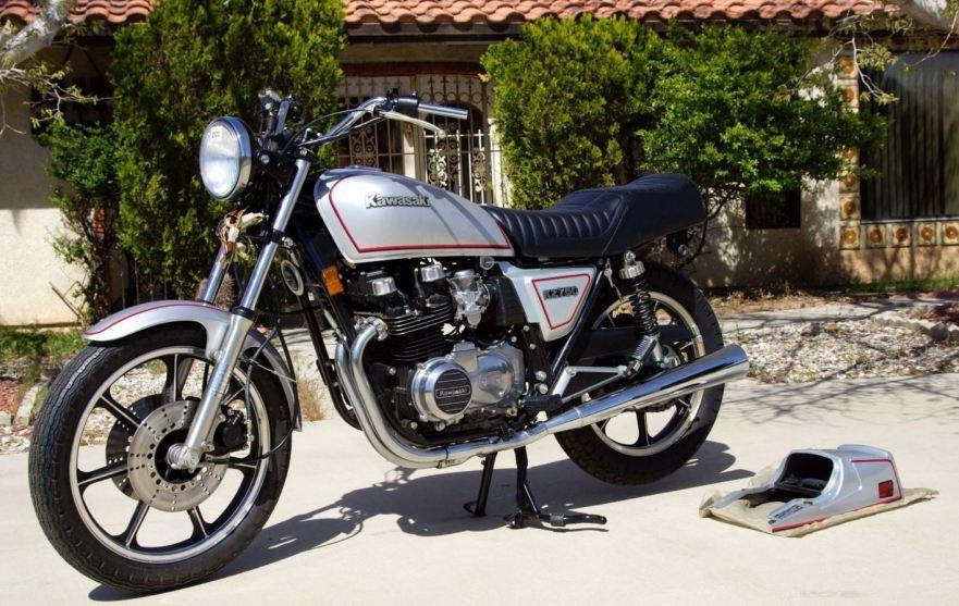 Brand New  U2013 1981 Kawasaki Kz750 E2