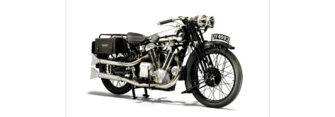 Brough Superior SS100 Alpine Grand Sports - Front Right