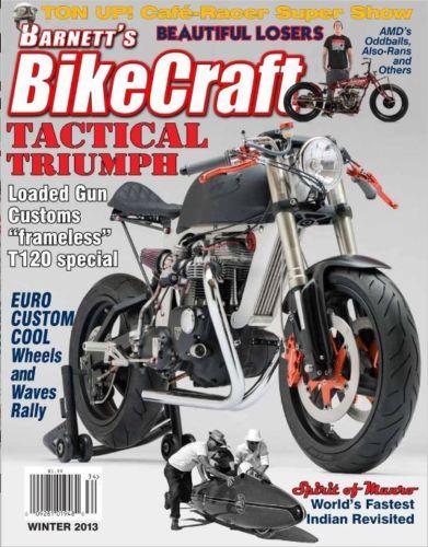 Bucephalus - Triumph Bonneville Custom - Bikecraft Cover
