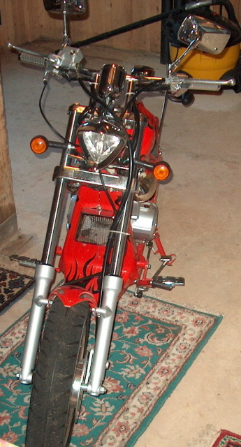 Budweiser Mini Chopper - Front
