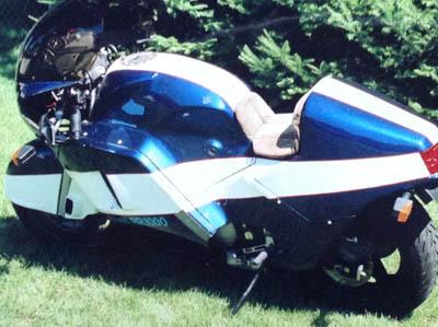 Buell RR1000 Prototype - Rear Left