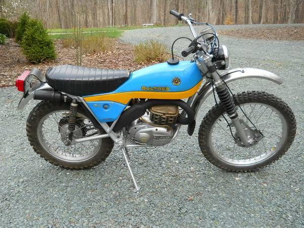Bultaco motorcycles for sale craigslist