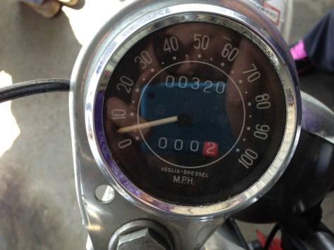 Bultaco Matador MkV - Gauges