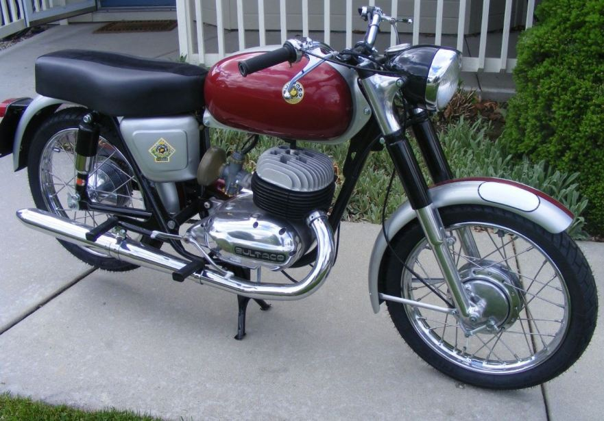 Restored Model 13 – 1964 Bultaco Mercurio – Bike-urious