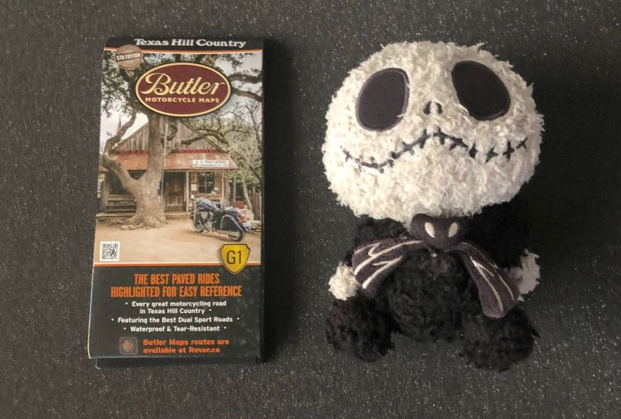 Giveaway Butler Motorcycle Map For The Texas Hill Country