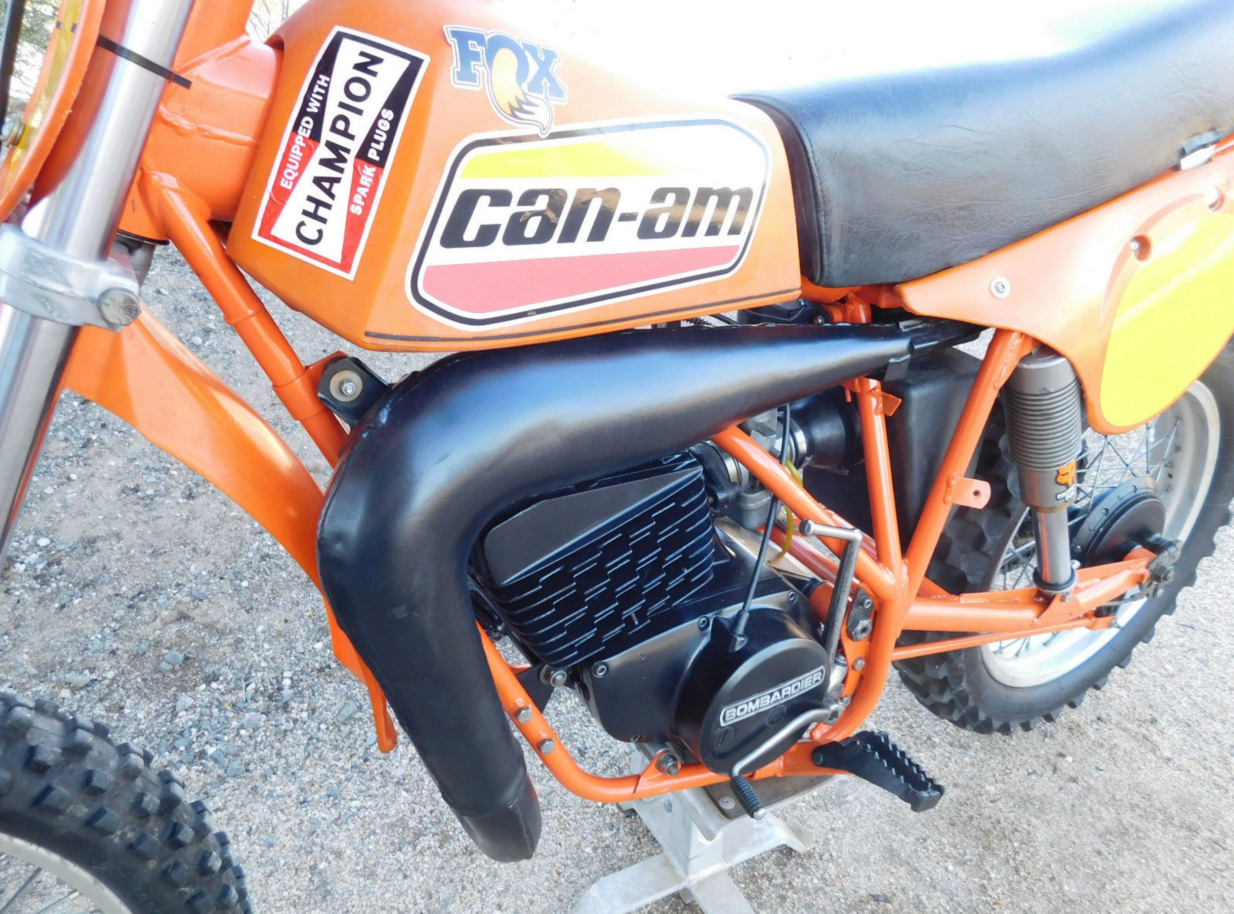 1979 Can Am Mx 370 Bike Urious