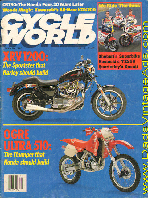 Cycle World XRV1200 Cover