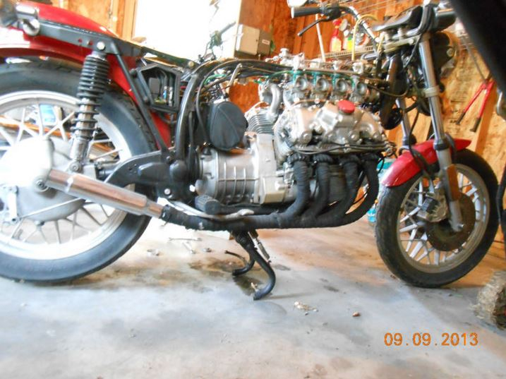Homemade Frankenstein – BMW R65 Chassis with a Honda V8
