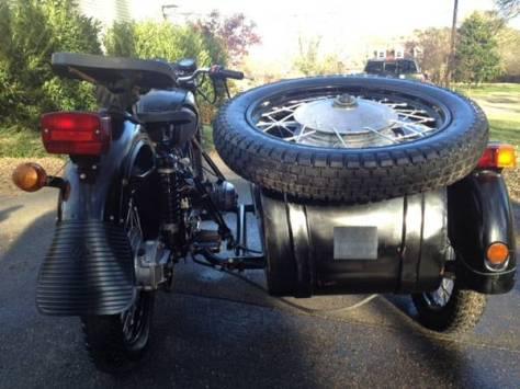 Dnepr MT11 Sidecar - Rear