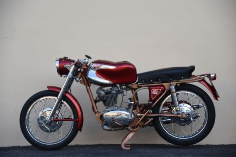 Ducati 200 Elite - Left Side