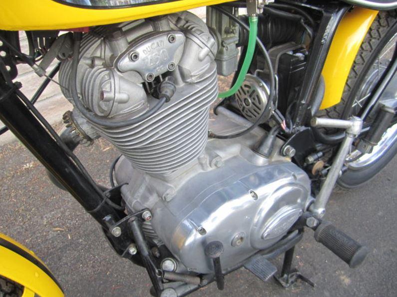Ducati 450 Scrambler - Engine