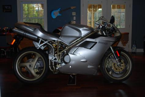 Ducati 748L Neiman Marcus Edition - Right Side Clean