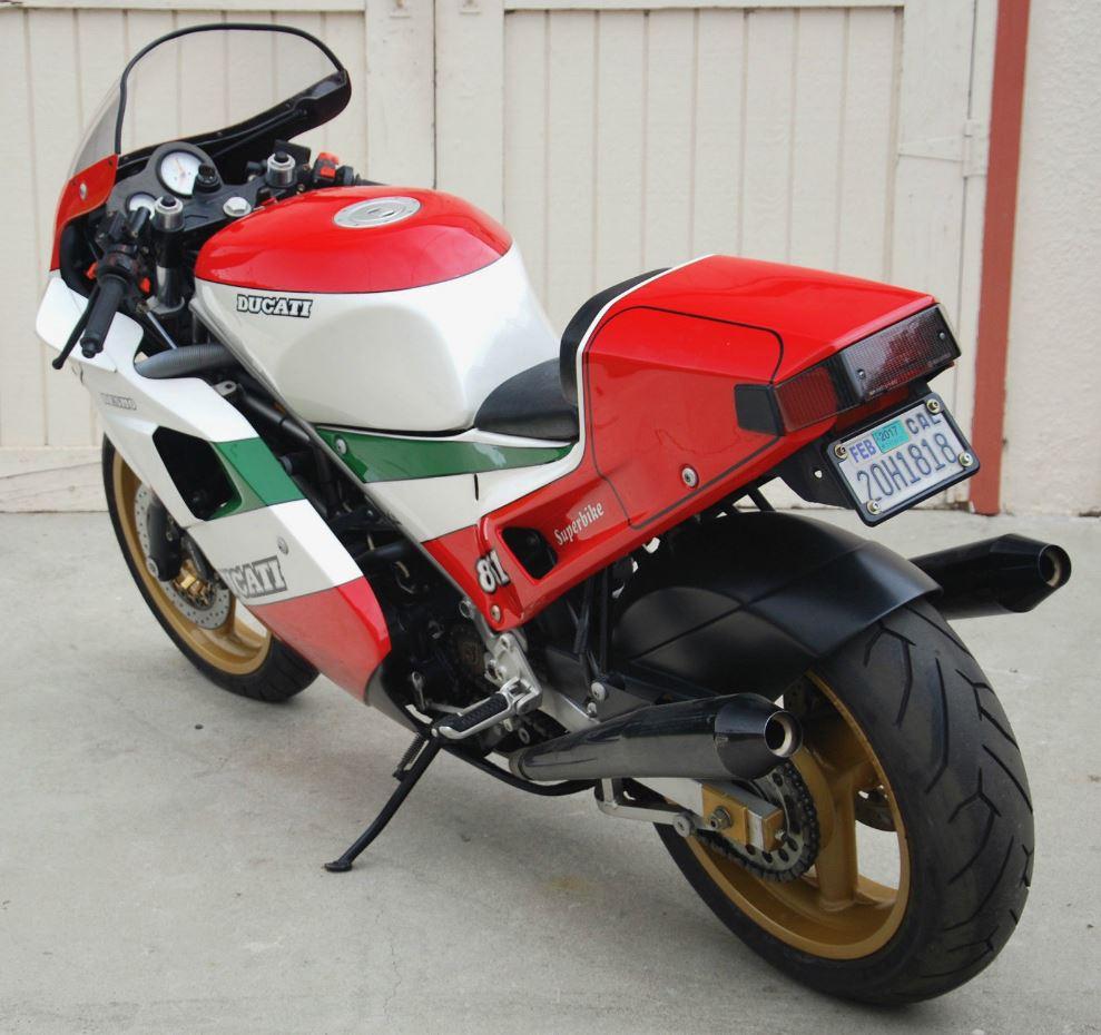ending soon – 1988 ducati 851 tricolore | bike-urious