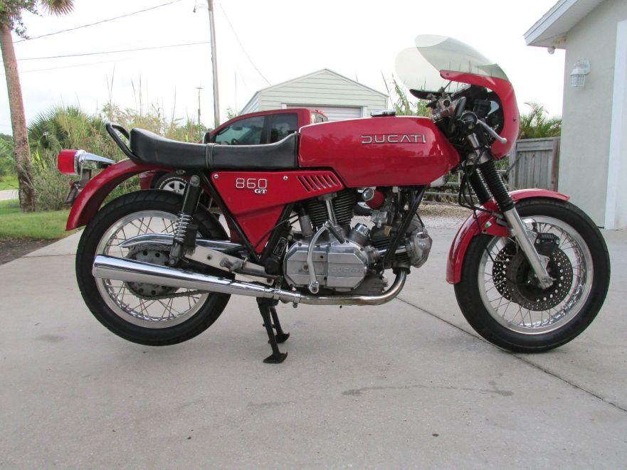 "pasta rocket"" – 1975 ducati 860 gt | bike-urious"