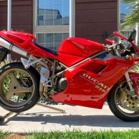 New Auction Bike – 1997 Ducati 916