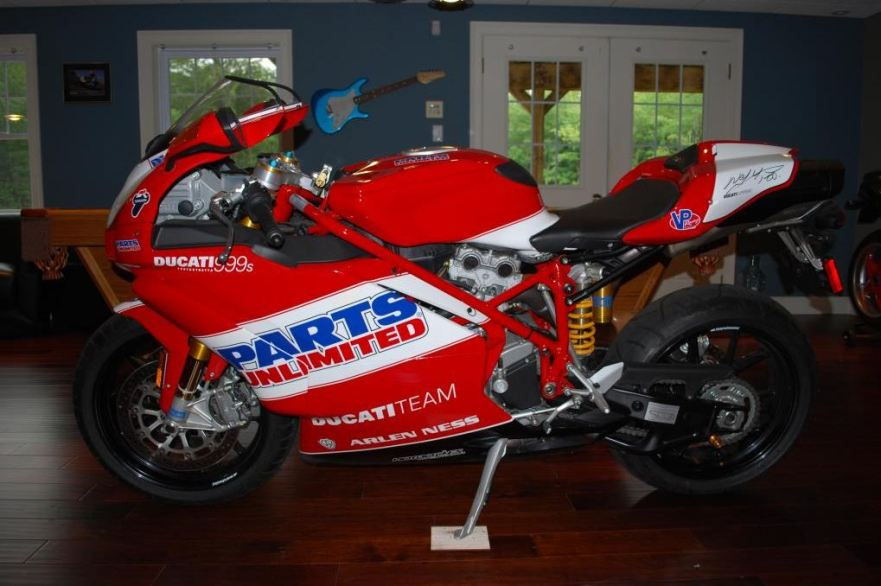 Ducati 999S Team USA Replica - Left Side