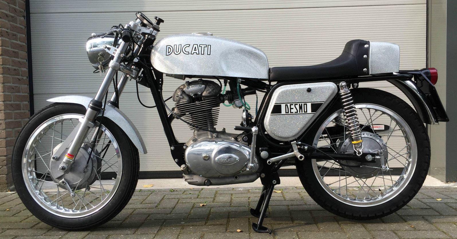 Sell Us Your Bike Reviews >> Silver Shotgun in Holland – 1971 Ducati 350 Desmo | Bike-urious