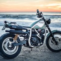 Unexpected Custom - 1987 Ducati Indiana Street Tracker