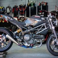 Clad in CF - 2012 Ducati Monster 1100 EVO